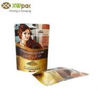China Resealable Coffee Sack Bags , Gravure Printing Coffee Bean Packaging Bags on sale