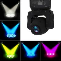 China best quality 30w mini gobo moving head stage light 10 channels led spot lighting Manufactures