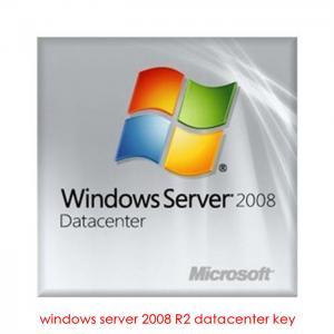 Windows Server 2008 R2 Datacenter Product Key , Online Software Activation Manufactures