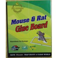 China Mouse Glue Trap Board Extra Sticky Rodents and Peanut Butter with 21.5x16.5cm Capture Area on sale