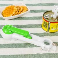 Picnic Gift Household 7 In 1 Can Opener , Multi Function Plastic Kitchen Tools Manufactures