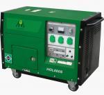 5.5KW / 6KW OHV Gasoline Power Generator , Silent Generator Set Manufactures