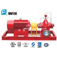 Oil Depots Electric Motor Driven Fire Pump 500GPM / 150PSI UL Listed Manufactures