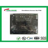 Black Solder Mask Quick Turn Pcb Assembly 2 Layer Fr4 1.6mm Lead Free Hasl Manufactures