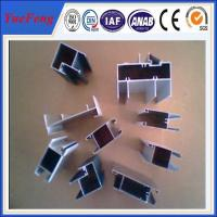 High quality aluminium extrusion for kitchen cabinet/wood grain aluminium profile Manufactures