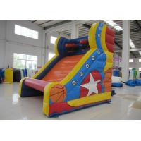 Inflatable Sports Games Small Inflatable sneaker basketball toss Basketball Shooting Game Manufactures