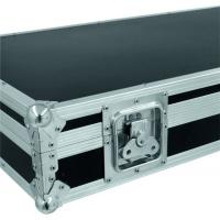 Square Portable Aluminum Tool Cases / Black Handle Equipment Case Manufactures
