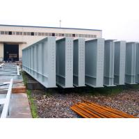 China Welded Structural Steel H Beams / Large Size Metal Lightweight Steel Beams on sale
