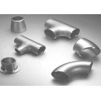 Carbon Steel / Stainless Steel Butt Weld Fittings Steel Pipe Tee with ISO9001 Approvals Manufactures