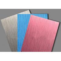 LINYI Brushed Serias Aluminum Plastic Composite Panel/ACP FOR CONSTRUCTION   Manufactures