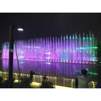 Program Control Led Light Color Changing Dancing Fountain Modern Water Fountain Manufactures