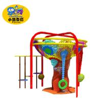 China Rope Obstacle Indoor Playground Equipment For Kids Environmental Protection on sale