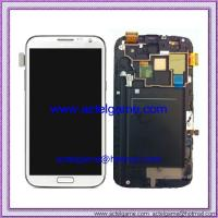 Samsung Galaxy Note2 N7105 LCD Screen with Digitizer Titanium White Samsung repair parts Manufactures