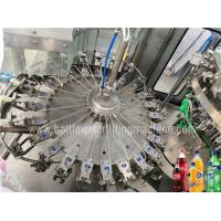Energy Drink Manufacturing Beer Filling Machine , Soda Water Machine / Equipment Manufactures