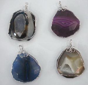 Fashion Natural Gemstone Pendant (9713) Manufactures