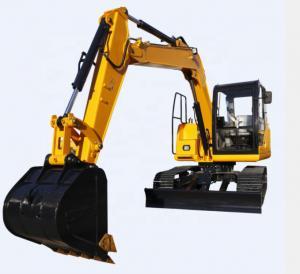 China 7500kg Mini Crawler Excavator 7.5 Ton Micro Digger Maximum Digging Depth 3898mm on sale