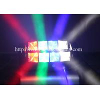 8 x 10 W LED Moving Head Stage Light 80 W RGBW Spider Party Lighting Manufactures