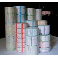 Buy cheap OEM Super market thermo paper label color label with Self-adhesive from wholesalers