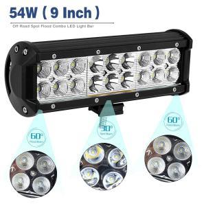 Black 10 - 30V DC Auto LED Mini LED Light Bar , Dustproof Cree LED Work Light Bar Manufactures