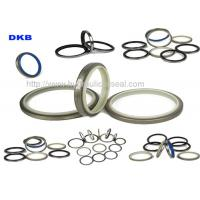 DKBI / DKB / NBR PU Hydraulic Wiper Seals , Machinery Hydraulic Oil Seal Manufactures