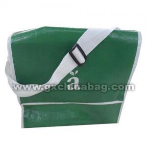 GX2012014 Shopping Bag reasonable handle design gloss lamination polyester woven handle Manufactures