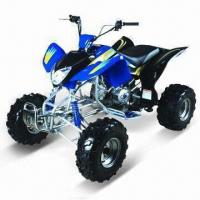 China 200cc ATV with Shaft Transmission, Front and Rear Drum Brakes, EEC Approved on sale