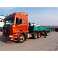 multi axle 40 ft 48 flat bed trailer side wall semi trailers - CIMC Manufactures