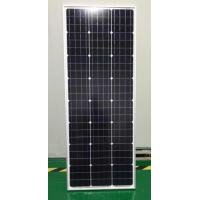 China 100 Watts 12 Volts Monocrystalline Solar Panel For Small House Rooftop on sale