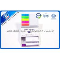 Colorful Customized Memo Sticky Notes In Hard Cover Box , Loose Leaf Type 150 Page Manufactures