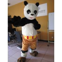 custom adults cartoon Kungfu Panda mascot costumes with plush Manufactures