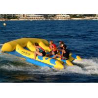 China 4 Riders Hot Air Welded Colorful Inflatable Flying Fish Towable Tube for Adults on sale