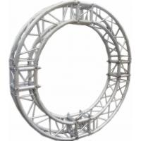 Burliness Silver SN300mm*300mm Circle Aluminum Lighting Truss For Light , LED Manufactures