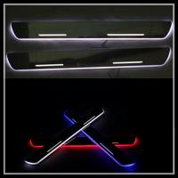 China Car LED door sill plate light for Toyota Corrola RAV4 LED Door Sill LED moving door scuff on sale