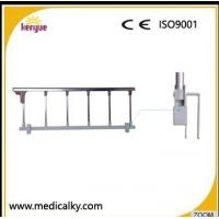 China Aluminum Alloy Hospital Bed Side Rails , Silver Collapsible Hospital Bed Rails on sale