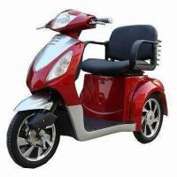 New Mobility Scooter/Electric Tricycle, Brushless Motor with Electric Brake
