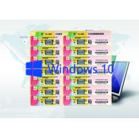 Quality Microsoft Win 10 Pro Product Key Code Windows 10 Product Key Sticker Globally for sale