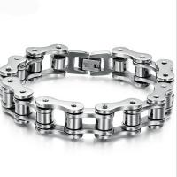 High quality stainless steel mens bracelet stainless steel bracelet clasp Manufactures