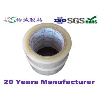 Transparent BOPP packing tapes , clear plastic tape non-toxic