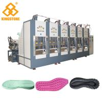 Vertical Shoe Sole Mould Making Machine , Eva Sole Making Machine CE SGS Manufactures
