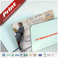 China 2-4mm High Glossy Aluminium Composite Panel For Signboards / Display Platform on sale