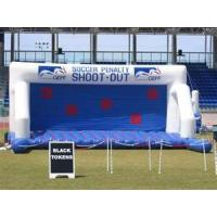 Commercial grade  PVC tarpaulin Inflatable Soccer  Sports Games with repair kits Manufactures