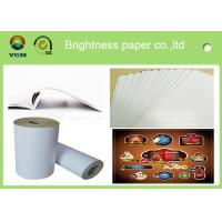 80gsm - 250gsm Glossy Invitation Paper , Glossy White Paper Offset Printing Manufactures