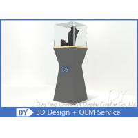 Quality Free 3D Design Ship With Pre Assembly Jewelry Window Showcase for sale