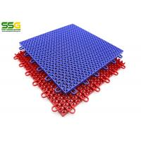 Basketball Interlocking Tiles Flooring For Outdoor Sports Court Manufactures