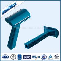 Stainless Steel Medical Razor Disposable One Blade Easily Maintain Blue Color Manufactures