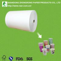 China food grade 210gsm PE coated paper cup paper wholesale