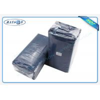 China Water Proof PE Coated Disposable Bed Sheet Size 80CM x 210CM For Massage wholesale
