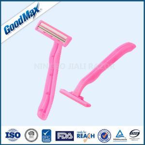 Goodmax Ladies Disposable Razors , Non - Slip Rubbers Ladies Razors For Sensitive Skin Manufactures