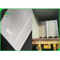 China 1.5mm 2.0mm Solid Book Binding Board For File Folders Full Grey 70x100cm Sheets on sale