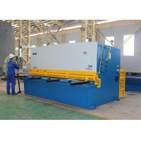 Stainless Steel Shearing Machine , Hydraulic Plate Shear Cutting Machine QC12K-20x6000 Manufactures